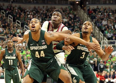 michigan state basketball report card  loss