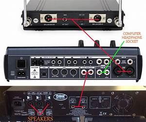 Help Wiring New Mixer For Karaoke Setup