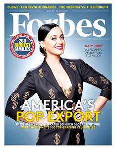 International Superstar Katy Perry Graces The Cover Of ...