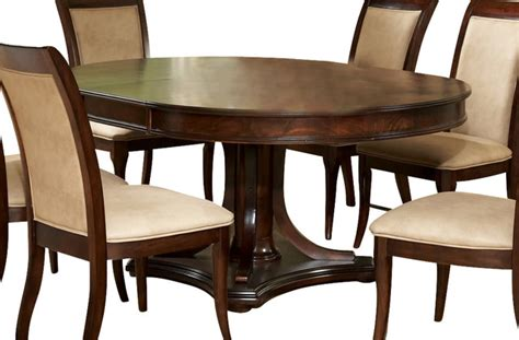 52 round dining table steve silver marseille 52 inch round dining table w 18