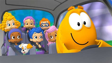 guppies bubble grouper mr characters things nick jr trip field reasons five know bus