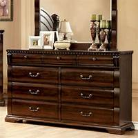 nice traditional bedroom dresser Burleigh Traditional Elegant Style Cherry Finish Bedroom Dresser | Bedroom Dressers | 24/7 Shop ...