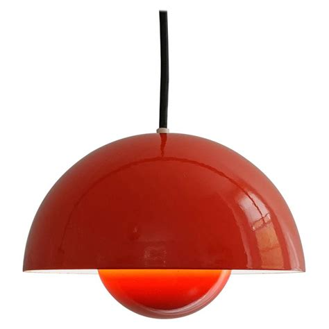 verner panton flowerpot pendant light for louis poulsen denmark 1969 for sale at 1stdibs