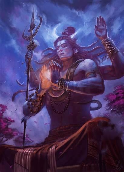 Artstation Shiva Artwork