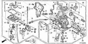 Honda Atv 2014 Oem Parts Diagram For Carburetor