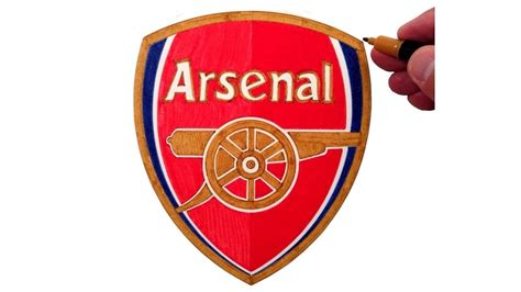 draw  arsenal fc logo youtube