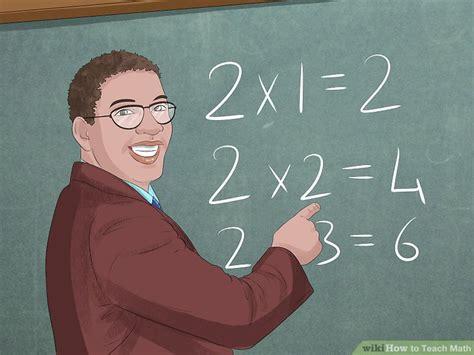 3 ways to teach math wikihow