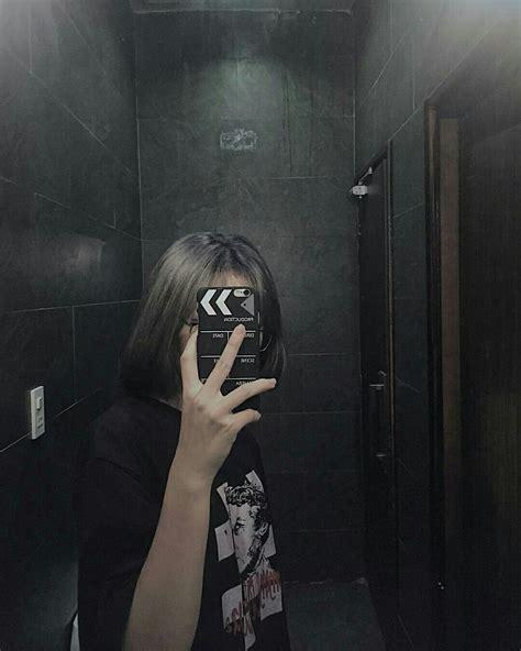 Pin Oleh ♥ Dii Dii ♥ Di Chụp Trước Gương Gambar