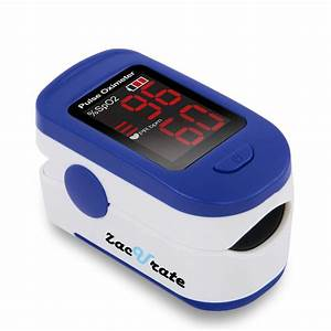Zacurate U00ae Fingertip Pulse Oximeter  Batteries  U0026 Lanyard