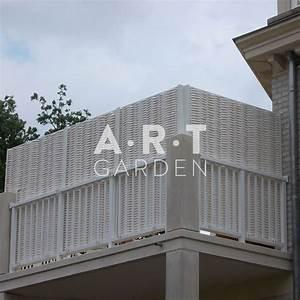 Agrafeuse Pour Brise Vue : brise vue pour balcon brise vue solde chromeleon ~ Mglfilm.com Idées de Décoration
