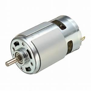 775 Dc Motor Dc 12v 36v 3500 9000 Rpm Ball Bearing Large