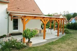 Construire Une Pergola En Bois : faire une pergola construire une pergola bois dedans ~ Premium-room.com Idées de Décoration