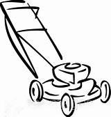 Mower Lawn Drawing Clipart Draw Vector Coloring Template Sketch Credit Larger Herunterladen Bild Graphics Aehnliche Kuenstler Ansehen sketch template