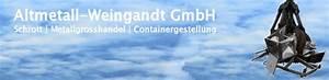 Luftballons Kaufen Hamburg : altmetall weingandt gmbh metallteile verbinden ~ Markanthonyermac.com Haus und Dekorationen