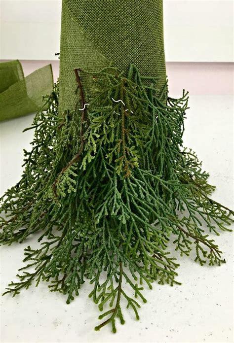 diy christmas tree topiary christmas decorations