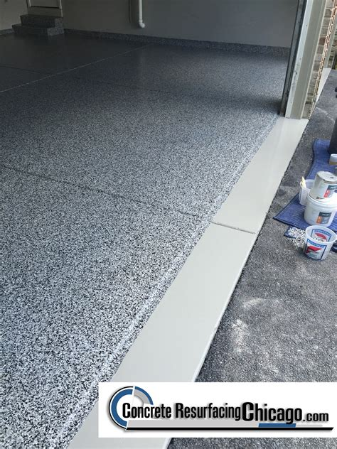 Resurface Garage Floor With Epoxy by 630 448 0317 Concrete Resurfacing Solutions Inc Benefits