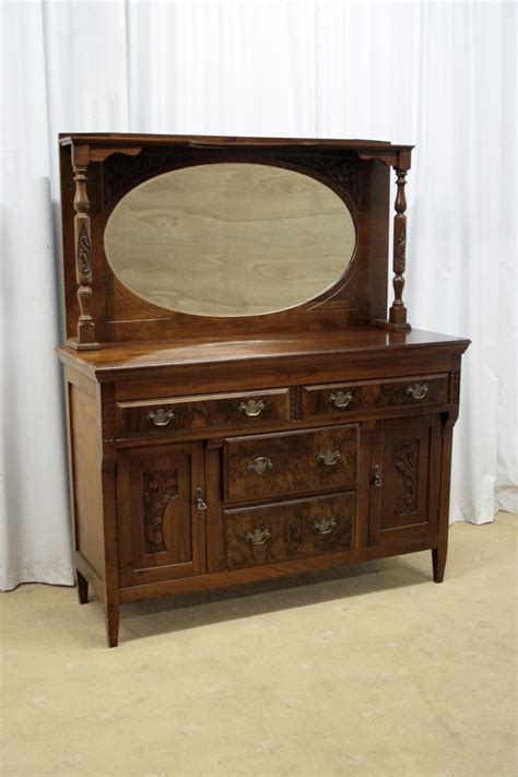 antique sideboards with mirrors edwardian mahogany mirror backed sideboard antiques atlas 4131
