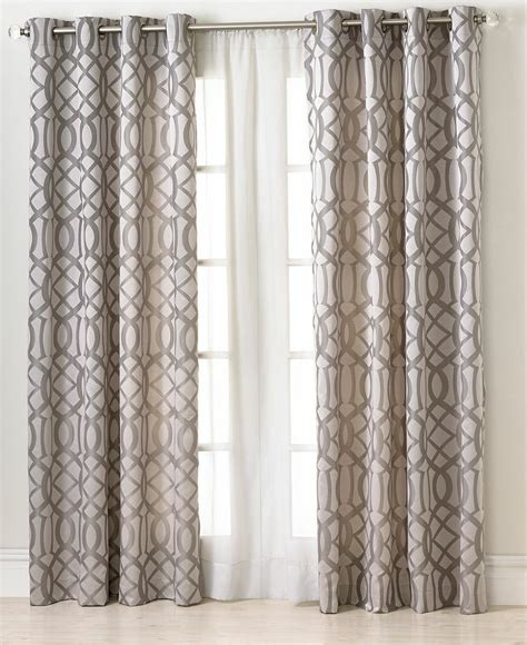 Macys Curtains And Window Treatments elrene window treatments latique collection fashion