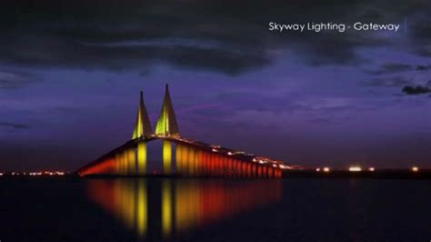lights skyway bridge