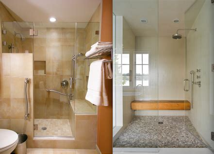types  contemporary shower seats