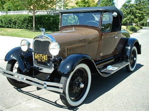1929 Ford Model A Roadster …