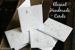elegant, handmade, cards, , u2013, pinlavie, com