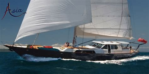 Sailing Boat Malaysia by Sailing Yacht Asia Luxury Adventure Yacht Charters In Se
