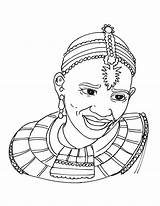 African Woman Tribal Coloring Pages Africa Printable Drawing Sheets Masks Clothing Colouring Culture Mask Adult Bestcoloringpages Worksheets Drawings Getdrawings Getcolorings sketch template