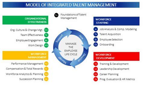 integrated talent management model organizational