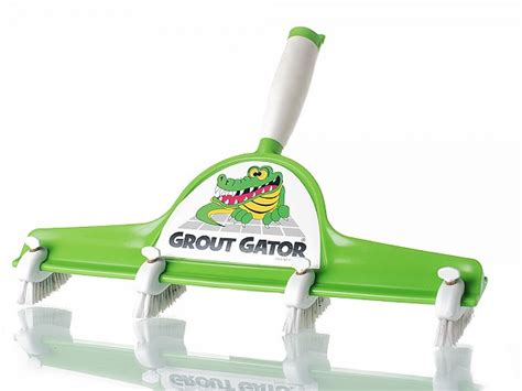 tile grout cleaner brush by grout gator