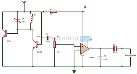 Receiver Circuit Diagram Wiring Schematic