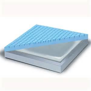 gel infused high density memory foam overlay mattress