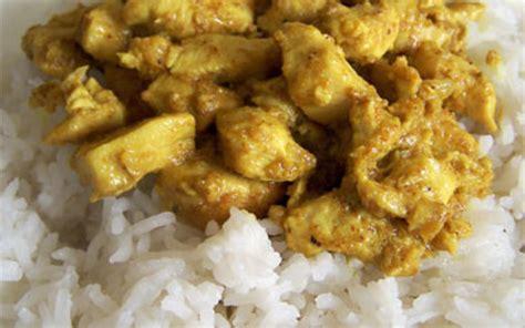 recette cuisine poulet recette poulet au curry pas chère et simple gt cuisine étudiant