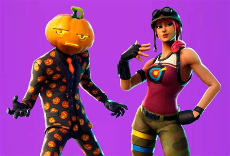 fortnite data miners leak  upcoming halloween skins