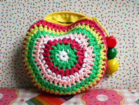 diy  pattern  crochet coin purse photo tutorial
