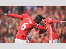 Paul Pogba All Manchester United Dabs 201617 YouTube