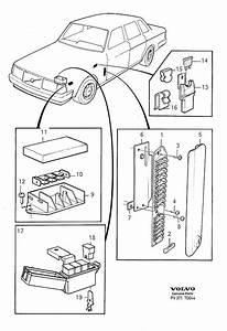 Volvo 240 Fuse  5cyl  60a  1993  Electrical  Fuses