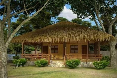 bahay kubo balay  nipa hut   type  stilt