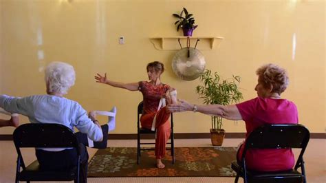 Actively Aging With Energizing Chair Yoga