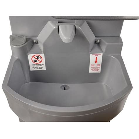 poly john portable sink polyjohn portable hand washing sink handstand 2 psw2