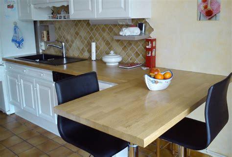 renovation plan de travail cuisine rénover sa cuisine avec des plans de travail en bois