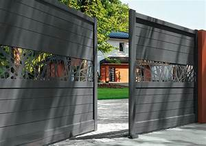 Portail En Aluminium : portails aluminium atlantem sont enti rement ~ Melissatoandfro.com Idées de Décoration