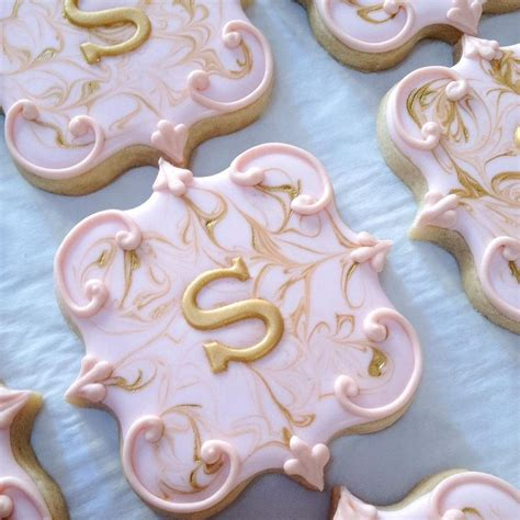 images  cookies initial monograms