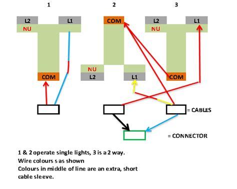 wiring  gang   light switch diynot forums