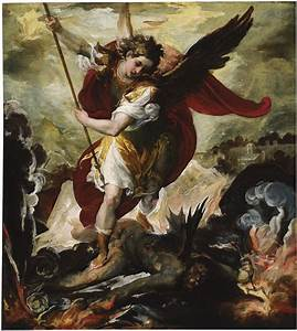 Classic Angel Paintings | Francesco Maffei, The Archangel ...
