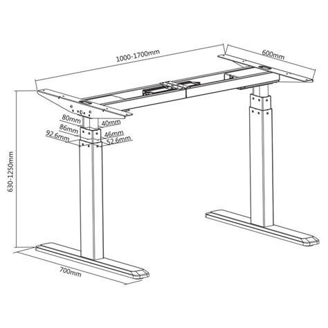 bureau position debout bureau motorisé assis debout hauteur réglable 63 125cm