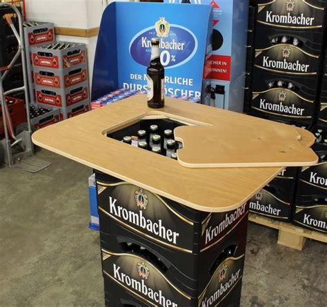 Aus Bierkisten by Die Besten 25 Bierkasten Stehtisch Ideen Auf