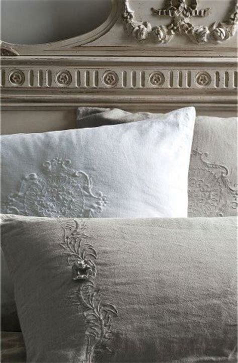 Stunning Antique Linen Pillow Covers Taupe, White On A