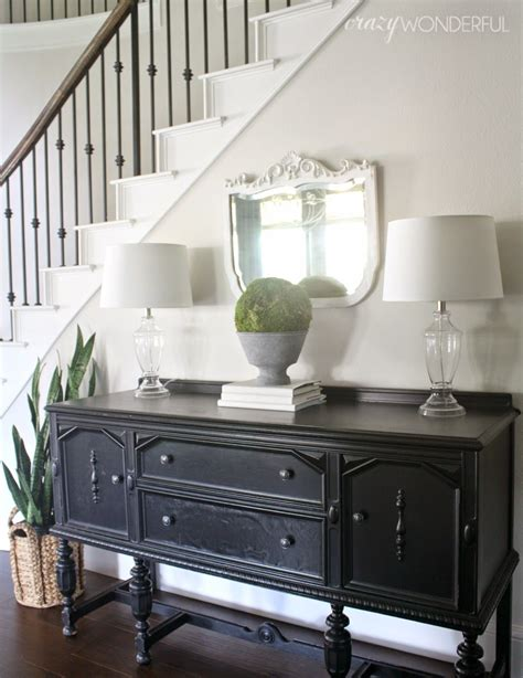 Entry Sideboard by Looks Just Like My Entry But With Wood Floors And An