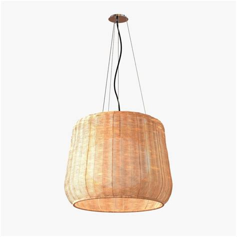 bover fora outdoor pendant light 3d model max obj 3ds